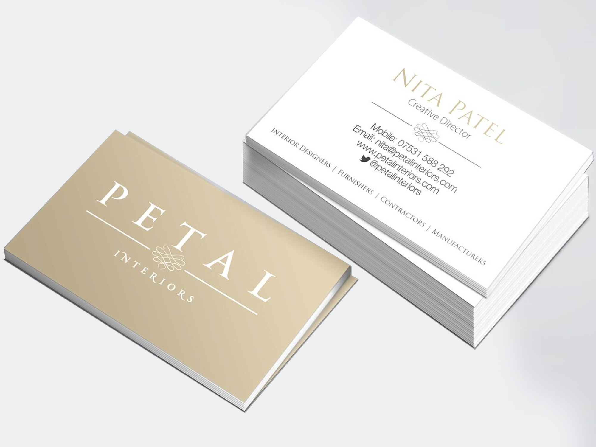 Petal business cards freedom of creation petal business cards reheart Gallery