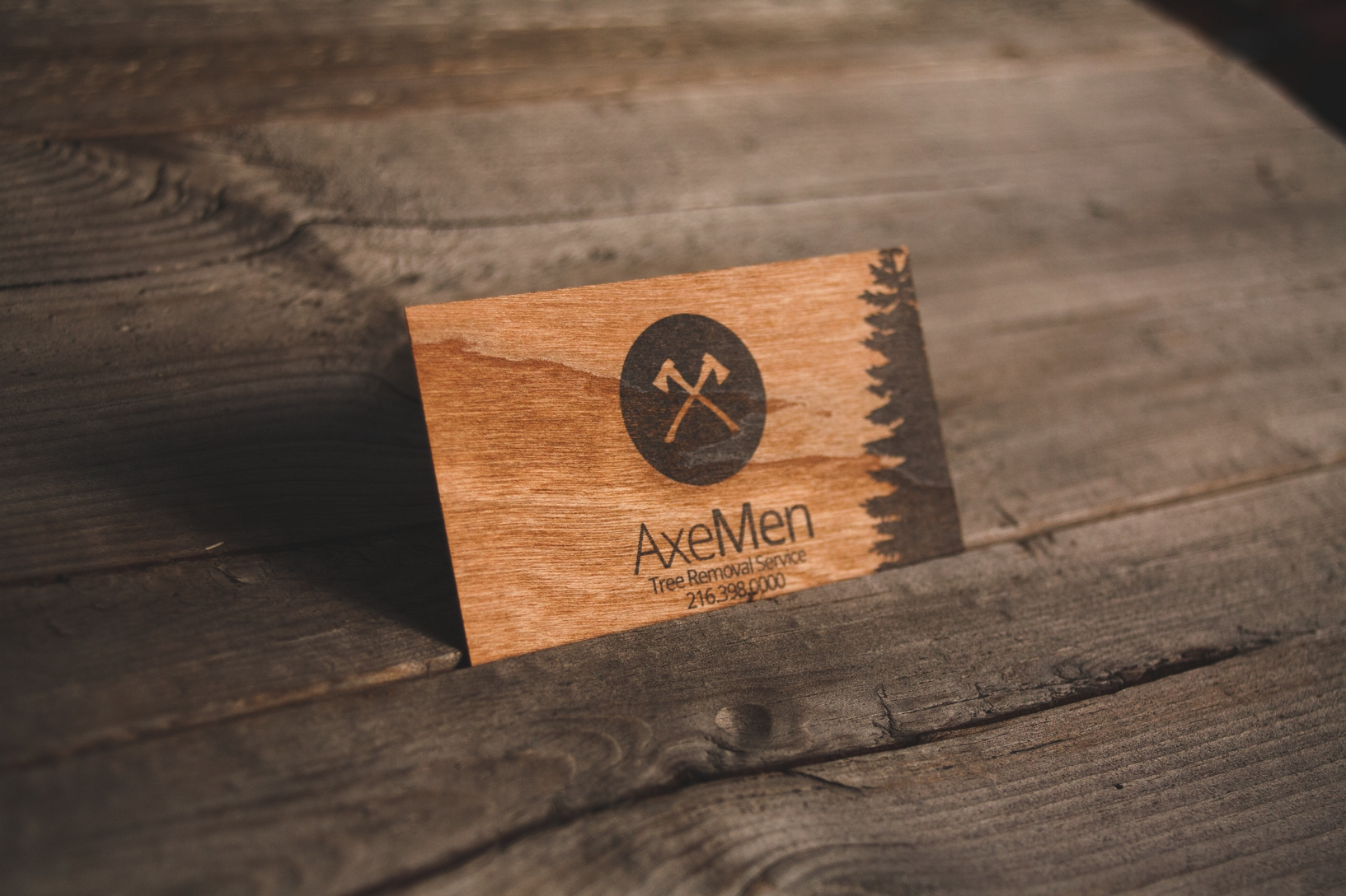 Wooden business card freedom of creation reheart Choice Image